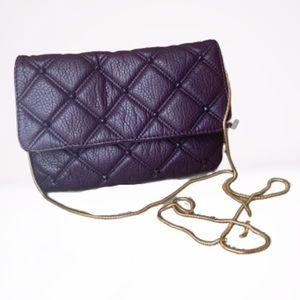 Deux Lux Purple Clutch